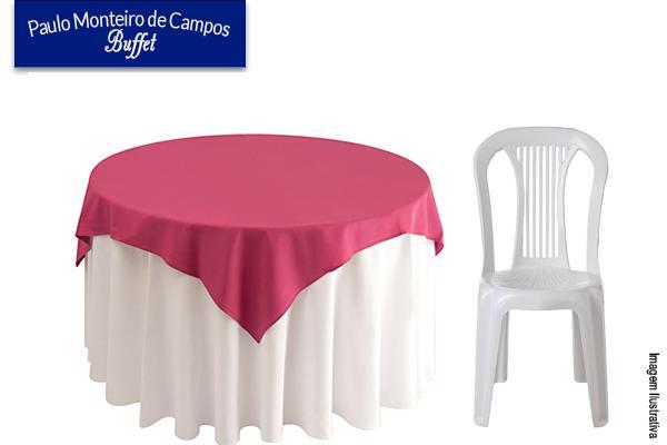 Aluguel do jogo bolachão+suporte+6 cadeiras+toalha grande+cobre mancha no Paulo Monteiro de Campos Buffet. Por apenas R$ 15,00