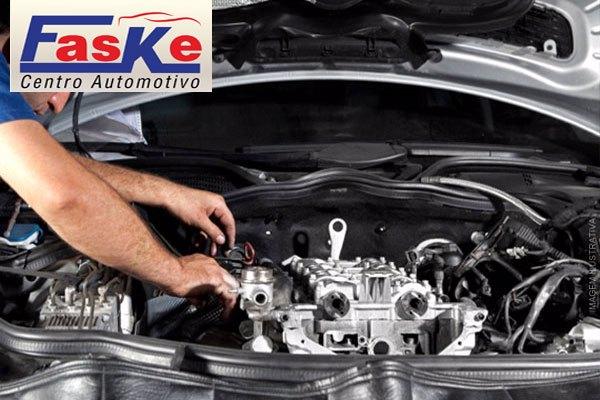Limpeza de Bicos Injetores + Verificação do Líquido de Arrefecimento, Freios, Lâmpadas e Suspensão no Faske Automotivo: 15,90.