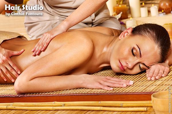 Sessão de Massagem Relaxante Expressa no Hair Studio, de 35,00 por apenas 16,90.