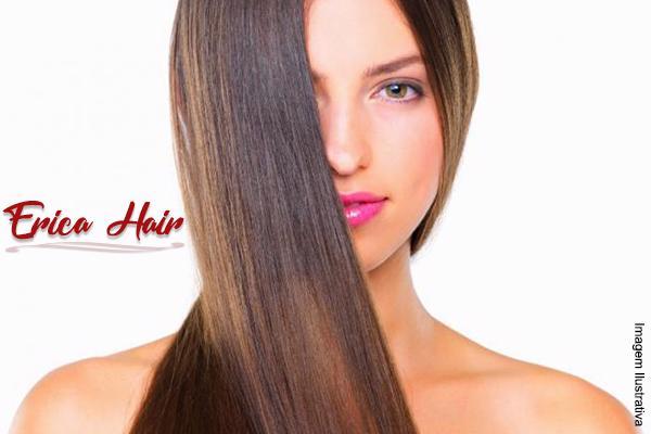 Promoção Escova Progressiva de R$ 160,00 por apenas R$ 59,90 no Erica Hair.