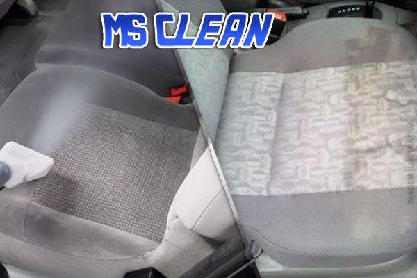 Seu Carro Impecável por Dentro!!! Limpeza de Banco à Seco (Para Bancos de Tecido) com a MS Clean por apenas 89,90.