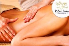1 sessão de Massagem Relaxante no Relax Body Massagens por apenas 25,00