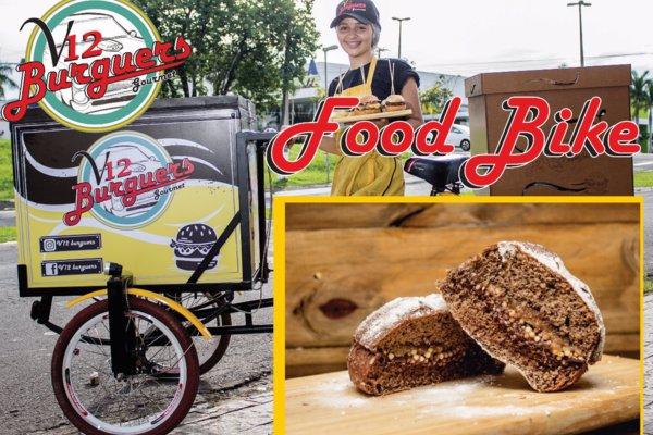 Oferta 1FoodBike para festa e eventos: FoodBike com 50 miniburguers de 30g doce. Por apenas R$ 289,00.