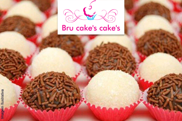 Cento de doces Gourmet! Beijinho ou Brigadeiro na Bru cakes cakes. Por apenas R$ 29,90.