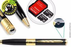 Caneta Espiã 4 em 1 com Opção de Cartão de Memória de 4GB ou 8GB. A partir de 63,90. Frete Grátis!