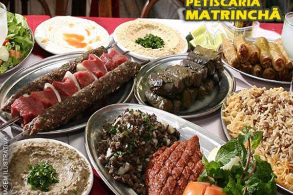 Rodízio de comida Árabe na Petiscaria Matrinchã por apenas R$ 19,99.