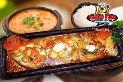Peixe na Telha sem Espinha + Acompanhamentos no Fried Fish Restaurante, de 110,00 por apenas 69,90. Serve 3 pessoas!