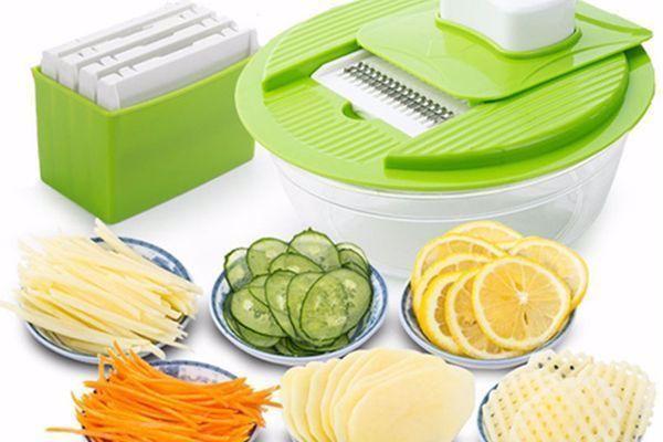 Slicer Dicer Cortador e Fatiador de Frutas e Vegetais com 4 Tipos de Lâminas com Frete Grátis por apenas R$ 75,90
