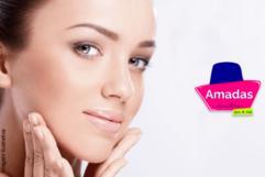 Promoção de Revitalização Facial de R$ 50,00 por apenas R$ 19,90 na Amadas Esmaltaria.