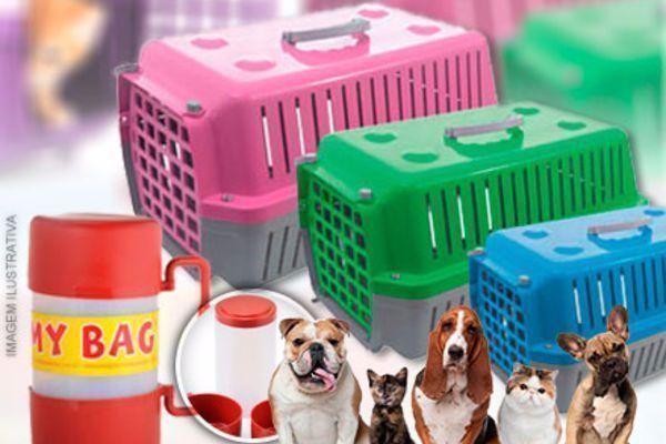 Não deixe seu Pet fora de suas viagens! Caixa de Transporte + My Bag a partir de 85,90. Entrega Imedita Frete incluso!