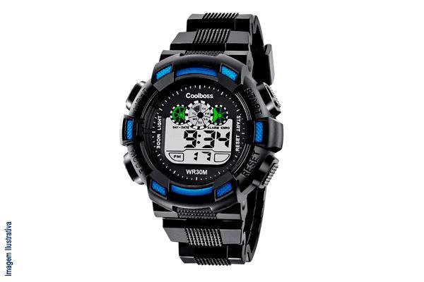 Relógio Esportivo (5 opções de cores) com Frete Incluso para todo o Brasil por apenas R$ 43,90