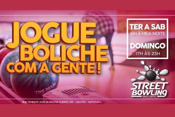 Oferta Imperdível! 1 hora de Boliche para até 6 pessoas no Street Bowling por apenas R$ 39,90