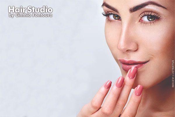 Mãos impecáveis e buço sem pelos! Manicure + Depilação de Buço no Hair Studio, de 20,00 por apenas 9,90.