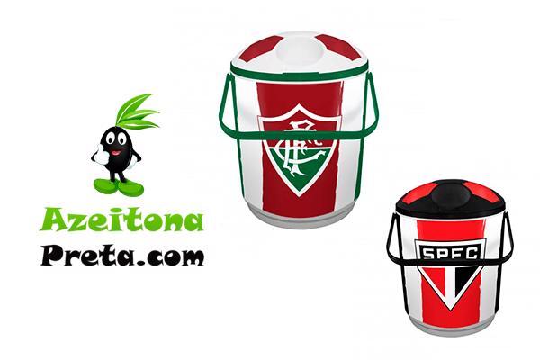 Cooler isotermico (12 latas) com escudo do seu time! Por apenas 128.90!Frete Incluso.