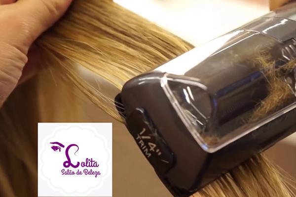 Tratamento novo corte splinter + selante à laser na Lolita Salão de Beleza. Por apenas R$ 79,90.