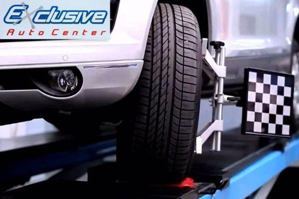 Alinhamento+Balanceamento+Revisão Completa de Suspensão e Freios no Exclusive Auto Center de R$ 120,00 por apenas R$ 39,90.