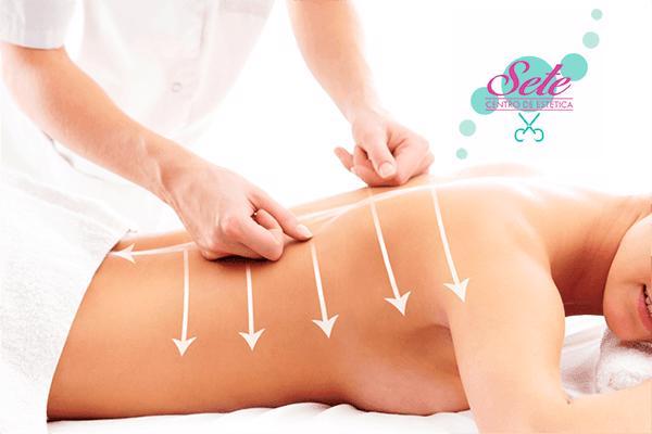 1 sessão de massagem modeladora na Sete Massoterapia. De R$ 80,00 por apenas R$ 30,00.
