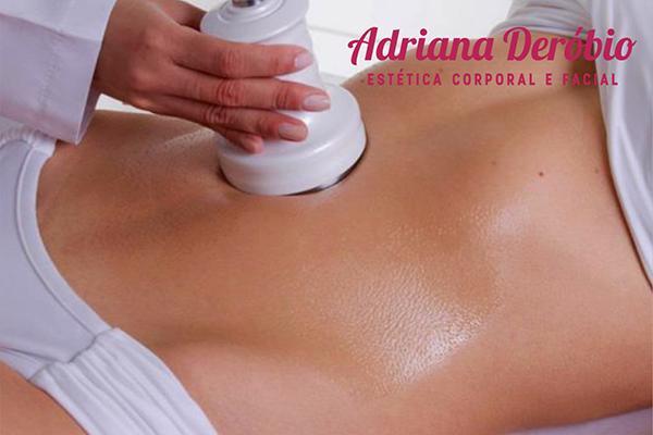 03 lipocavitação+03 enzimas emagrecedoras na Adriana Deróbio( Estetica corporal e facial). De R$600,00 por apenas R$149,90.