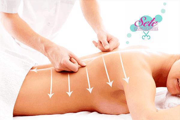 Sessão de Massagem Modeladora na Sete Massoterapia. De R$ 80,00 por apenas R$ 30,00.