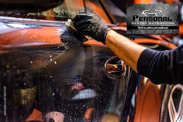 Polimento + Cristalização + Pretinho nos pneus no Personal Centro Automotivo, por apenas 189,00.