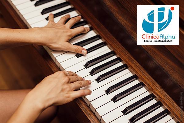 1 Mês de Aulas de Piano na Clínica Alpha - Centro Psicoterapêutico, de 240,00 por apenas 70,00.
