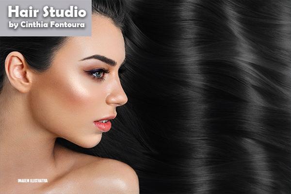 Hidratação de Banho de Verniz + Escova no Hair Studio by Cinthia Fontoura, de 80,00 por apenas 29,00.