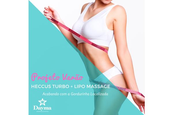 Sessão de Heccus Turbo + Lipo Massage na Dayma, por apenas 19,99.