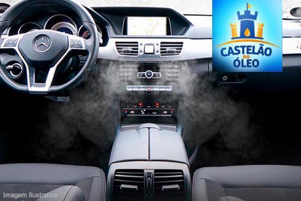 Higienização Automotiva com Ozônio, no Castelão do Óleo, de 120,00 por 49,90.