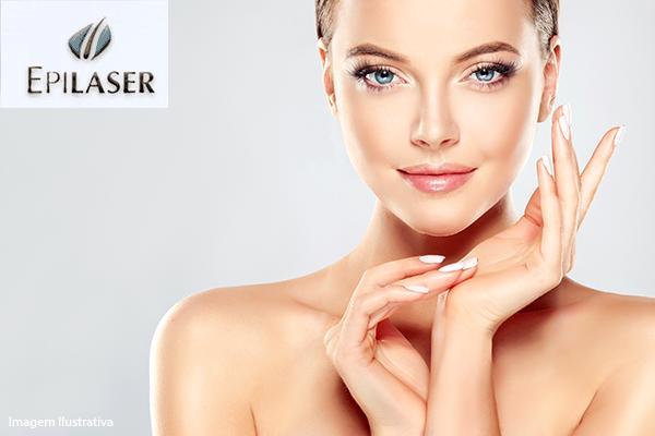Higienização facial + Esfoliação + Peeling de Ouro de 150,00 por 90,00 na Epilaser!